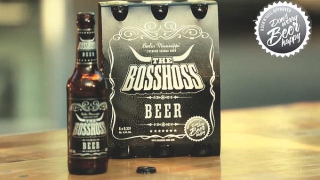 """""""The BossHoss"""" Rock-n-Roll grupa i njihovo pivo"""