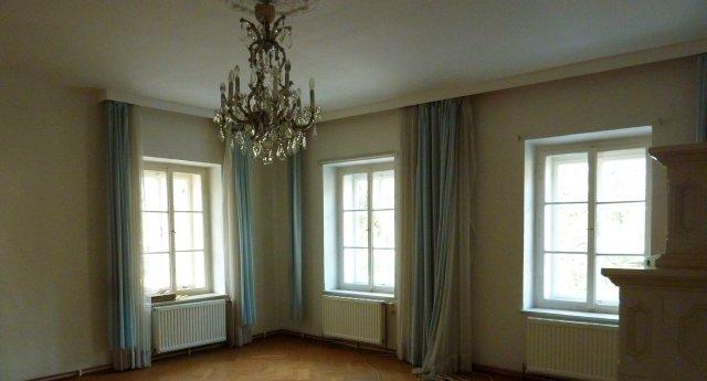 Esszimmer - Fenster jetzt frei von Grüzeug
