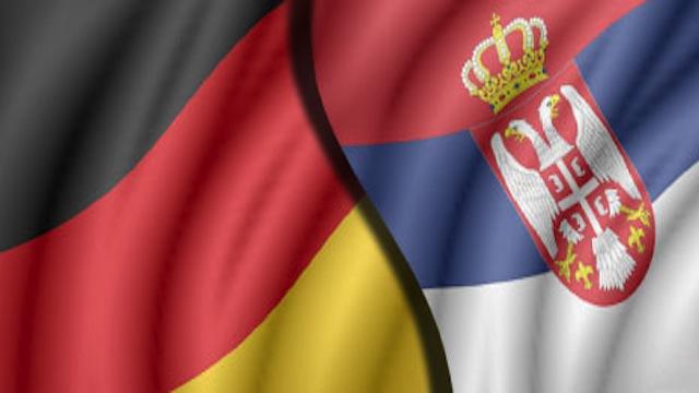 nemacka i srpska zastava