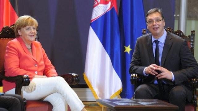 Završena poseta Angele Merkel Srbiji
