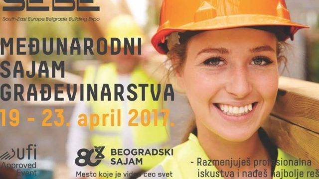 Posetite beogradski sajam građevinarstva