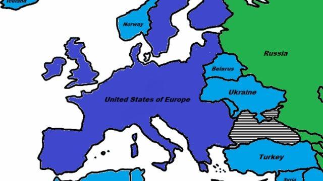 Na pomolu Sjedinjene Evropske Države