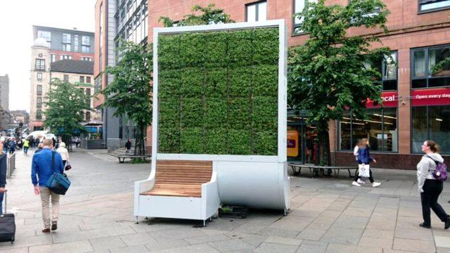 "Nemačke ""zelene"" klupe čiste vazduh Londona"
