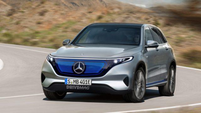 Mercedes danas predstavlja električni SUV
