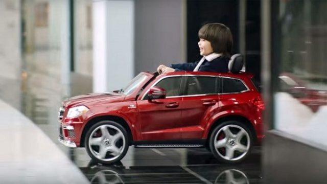 Mercedesov salon dečijih automobila