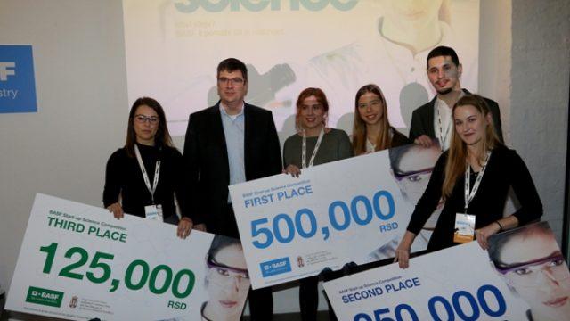 BASF nagradio naše najbolje mlade naučnike