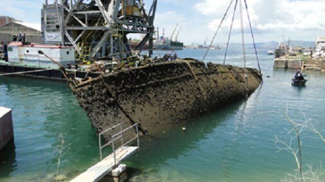 Potopljena nemačka flotila van Dunava do 2023.