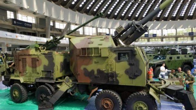 Izvoz srpskih raketa, teškog naoružanja i borbenih vozila