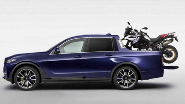 BMW sve iznenadio svojim prvim pik-apom