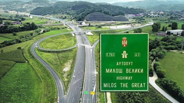 Gde da se uključite na novu deonicu auto-puta Miloš Veliki?
