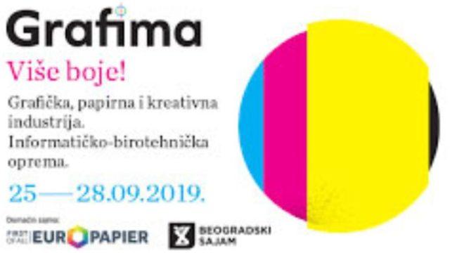 """U Beogradu počeo Sajam grafičke industrije """"Grafima 2019"""""""