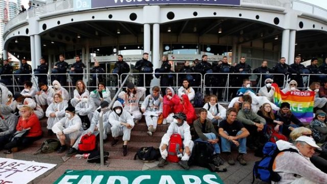 U Frankfurtu demonstracije protiv auto industrije