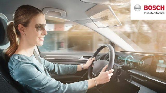 Bošova šoferšajbna štiti vozača od  sunčevih zraka