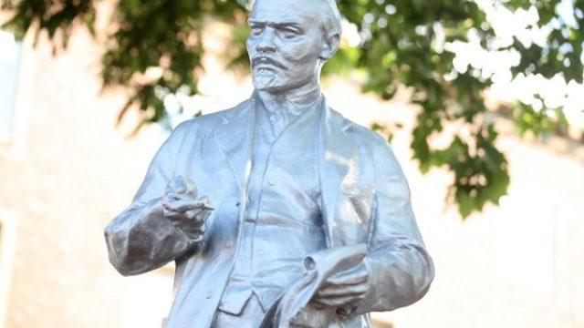 Lenjinova statua postavljena u Gelzenkirhenu