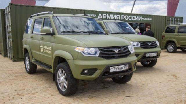 U Srbiju stiglo 56 ruskih terenskih vozila