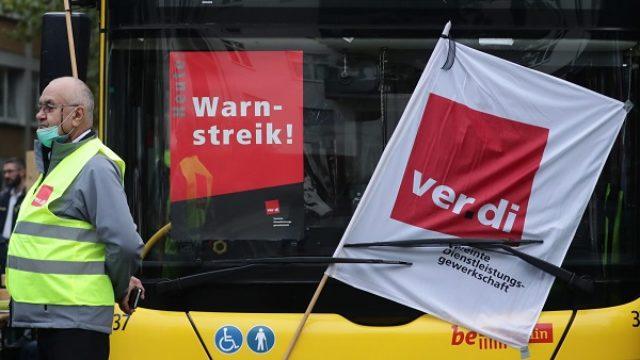 Nemačka javna preduzeća u jednodnevnom štrajku