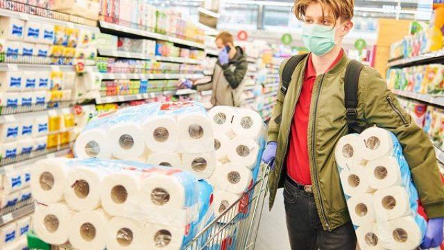Nemci opet gomilaju toalet papir i dezinficijense