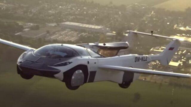 Prvi međugradski let letećeg automobila sa BMV motorom