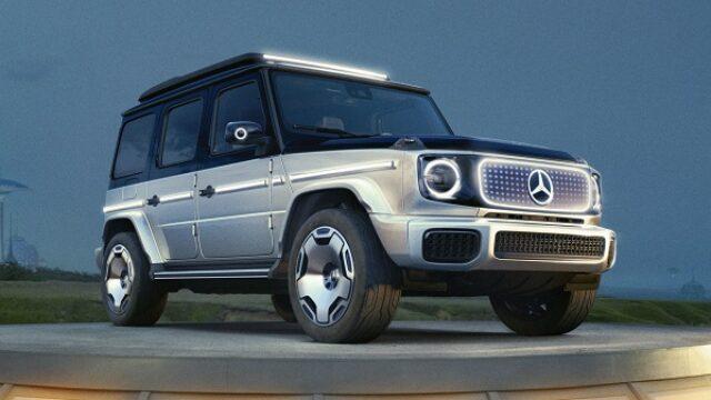 Mercedes predstavio električnu G klasu
